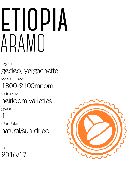 kawa etiopia aramo espresso