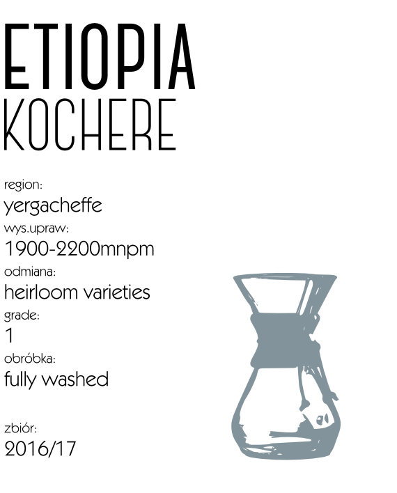 kawa etiopia kochere drip