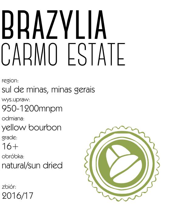 kawa speciality brazylia carmo