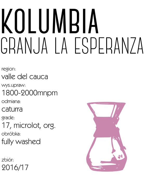 kawa speciality kolumbia