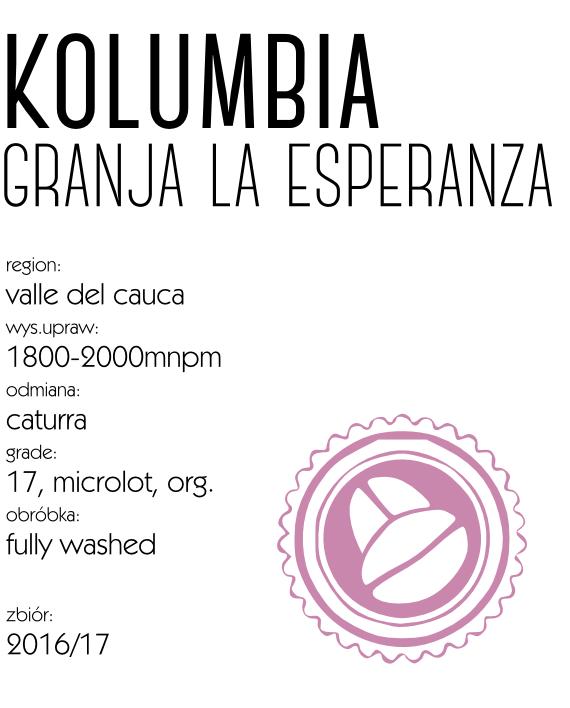 kawa kolumbia granja la esperanza
