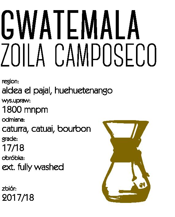 kawa gwatemala camposeco
