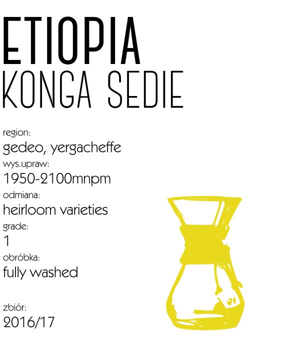 kawa etiopia konga speciality drip