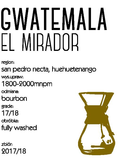kawa gwatemala drip
