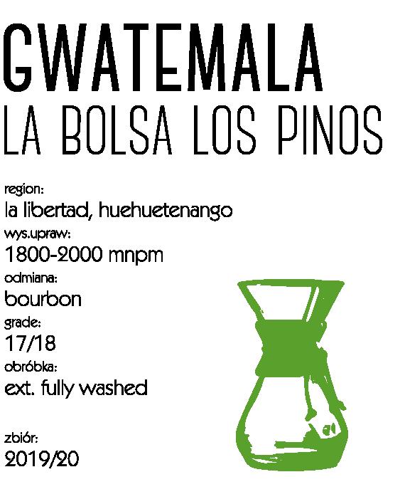 kawa gwatemala la bolsa speciality kawa do dripa