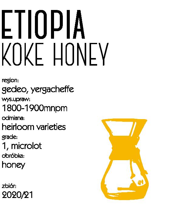 Etiopia Koke Honey Drip