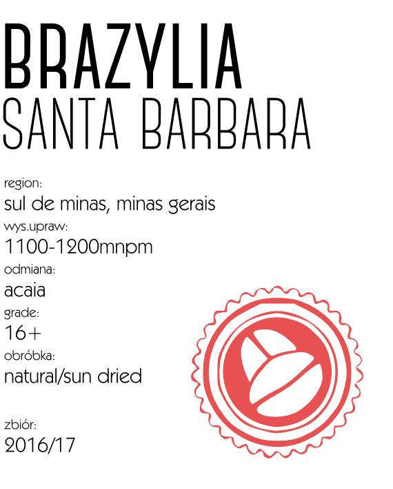 kawa brazylia santa barbara
