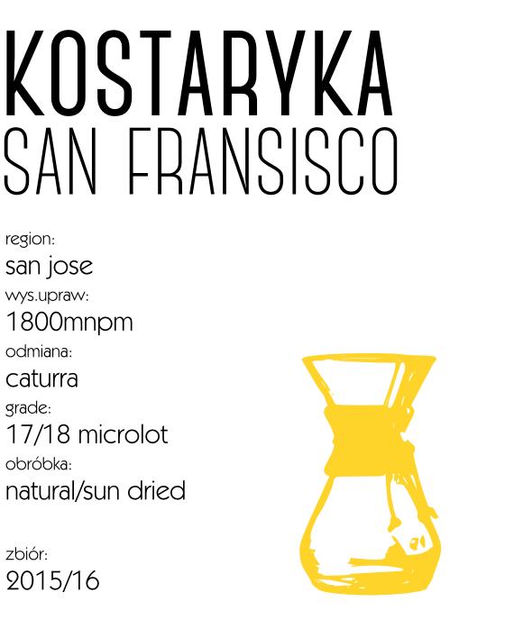 kawa kostaryka finca san fransisco