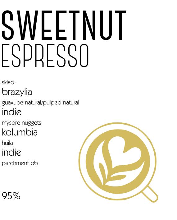 kawa sweetnut espresso
