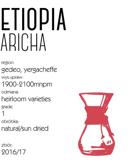 kawa speciality etiopia aricha