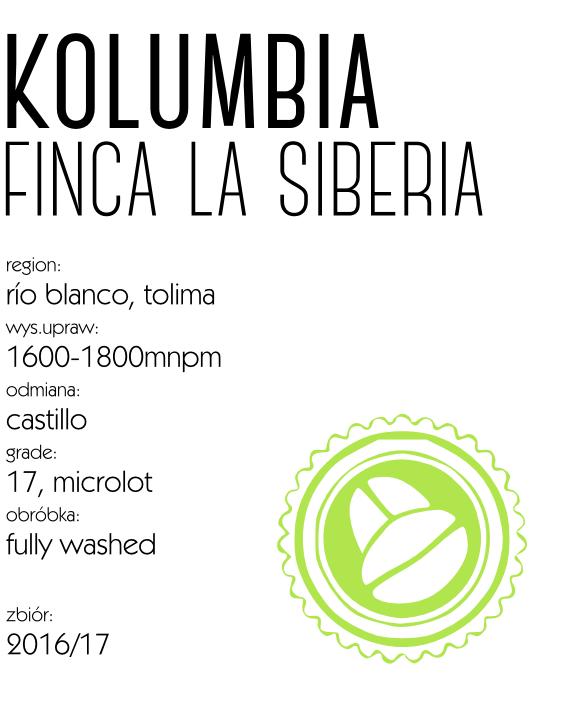 kawa kolumbia la siberia