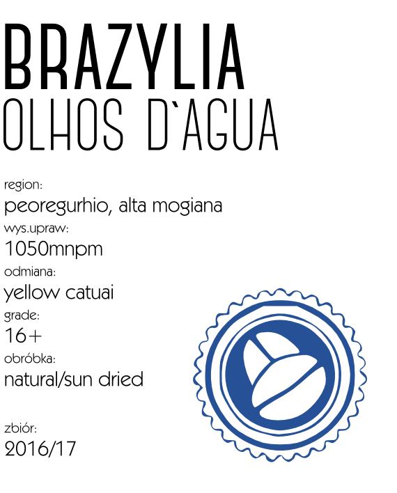 kawa brazylia olhos d`agua