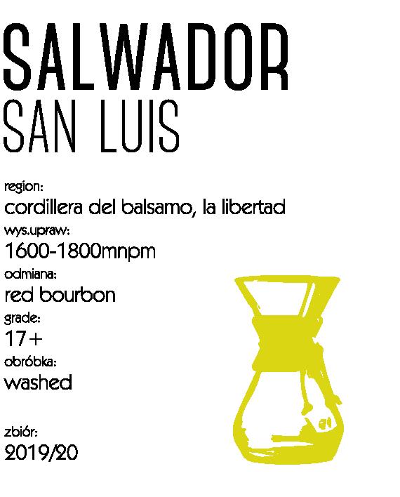 Kawa Speciality Salwador San Luis